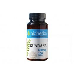 Гуарана, за редуциране на теглото, Биохерба, 100 капсули