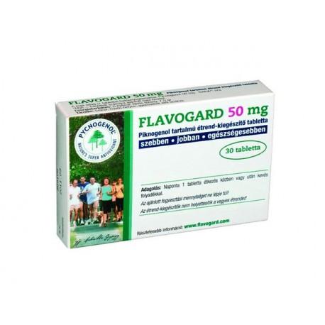 Флавогард (Пикногенол), екстракт от френски бор, 30 таблетки