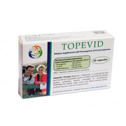 Топевид, пикногенол, Q10 и селен, 30 капсули