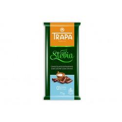 Млечен шоколад със стевия и малтитол, Трапа, 75 гр.