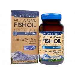 Концентрирано рибено масло, Омега-3, 60 капсули