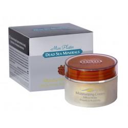 Овлажняващ крем за лице с мляко, мед и прополис, DSM, 50 мл.