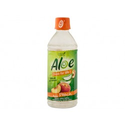Aloe Vera drink, Peach, Drink For Life, 500 ml