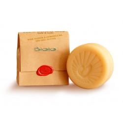 Твърд сапун с масла от ветивер, цитронела и шия, Биоло, 125 гр.