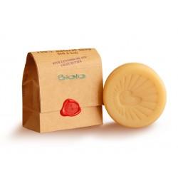 Твърд сапун с масла от лавандула и какао, Биоло, 125 гр.