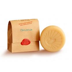 Твърд сапун с масла от иланг-иланг и какао, Биоло, 125 гр.