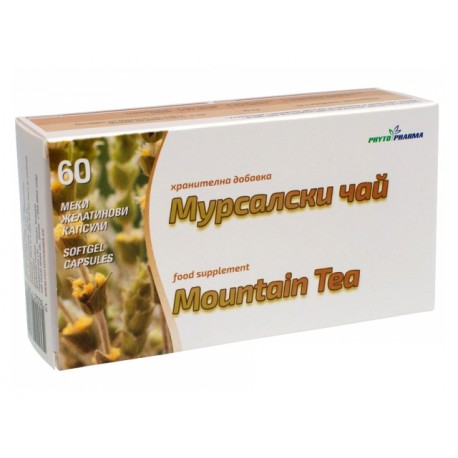 Mountain tea, extract, PhytoPharma, 60 capsules