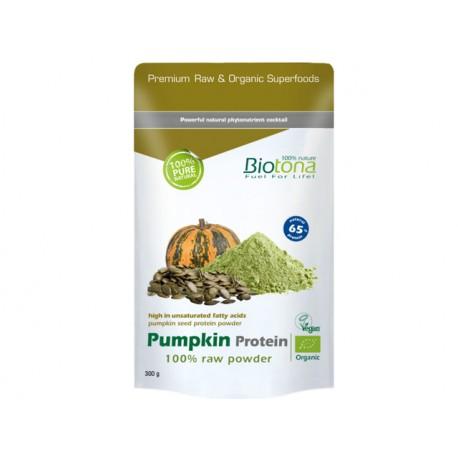 Органичен тиквен протеин, на прах, Биотона, 300 гр.
