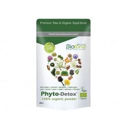 Фито-Детокс, органични растения на прах, Биотона, 200 гр.