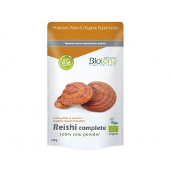 Органична гъба Рейши, на прах, Биотона, 150 гр.