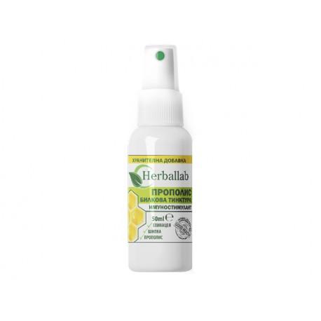 Immunostimulant, echinacea, rosehip and propolis, Herballab, 50 ml