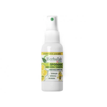 Kids Immunostimulant, herbal spray, Herballab, 50 ml