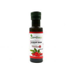 Rosehip seeds oil, cold pressed, Zdravnitza, 100 ml
