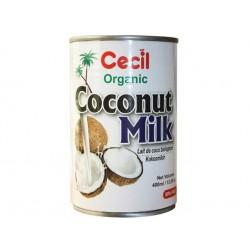 Органично кокосово мляко, Сесил Органик, 400 мл.