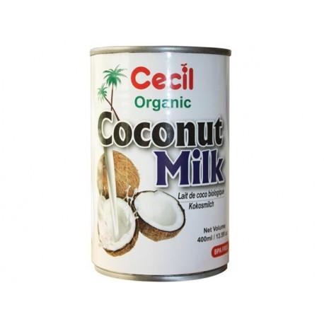 Organic Coconut milk, Cecil Organic, 400 ml