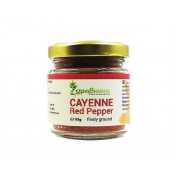 Cayenne, Red Pepper, powder, Zdravnitza, 50 g
