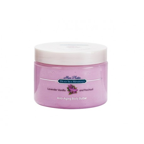 Anti-Aging body butter with lavender and vanilla, DSM, 300 ml