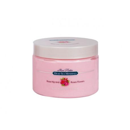 Масло за тяло против стареене, шипка и роза, DSM, 300 мл.