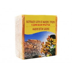 Soap from Mandarin, Turkey with pistachios and apricot kernel, 120 g