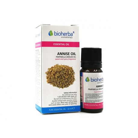 Annise, pure essential oil, Bioherba, 10 ml