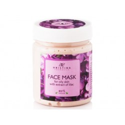 Face Mask for oily skin with Lilac extract, Hristina, 200 ml