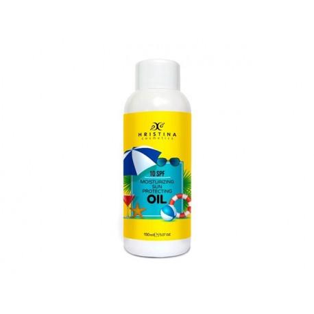 Moisturizing Sun Protecting oil, 10SPF, Hristina, 150 ml