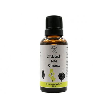 Fear, Dr. Bach flower elixir №4, Jo&Jo, 30ml