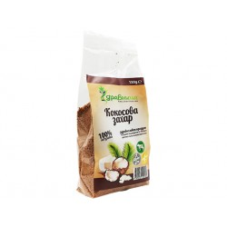 Coconut sugar, unrefined, Zdravnitza, 150 g