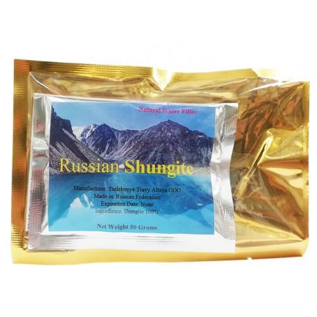 Руски Шунгит, естествен минерален воден филтър, 50 гр.