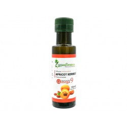 Apricot kernel oil, cold pressed, Zdravnitza, 100 ml