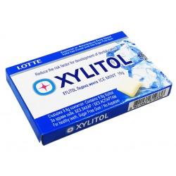 Дъвки Lotte Xylitol - ледена мента, 11 дражета