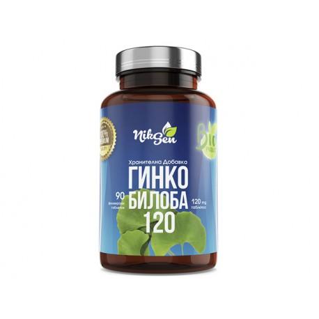Ginkgo Biloba, extract, Niksen, 90 tablets