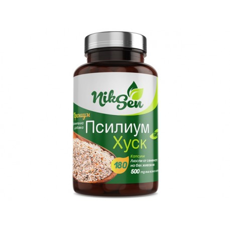 Psyllium Husk, weight loss and digestion support, Niksen, 180 capsules
