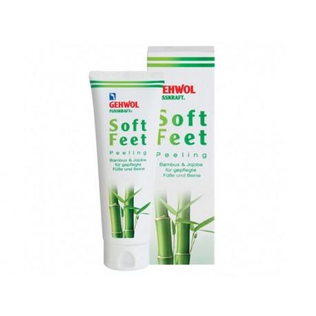 Soft Feet scrub with Bamboo and Jojoba, Gehwol, 125 ml