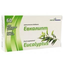 Масло от Евкалипт, ФитоФарма, 60 капсули