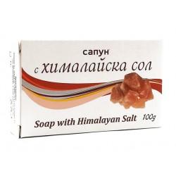 Natural soap with Himalayan salt, 100 g