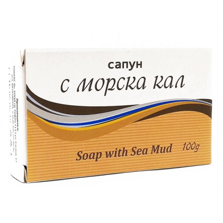 Natural soap with sea mud, 100 g