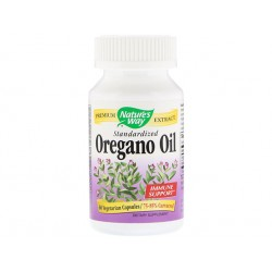 Oregano oil, standardized, Nature's Way, 60 capsules
