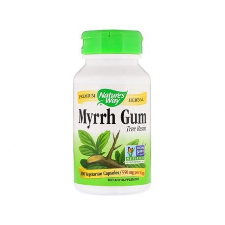 Myrrh Gum, tree resin, Nature's Way, 100 capsules