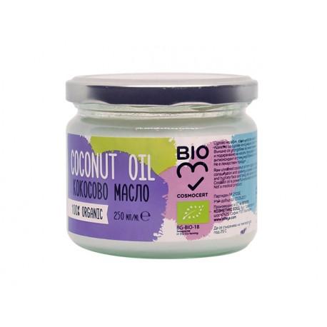 BIO Coconut oil, unrefined, Elfeya, 250 ml