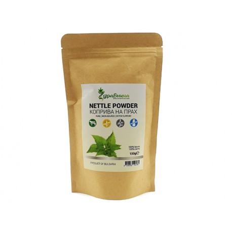 Nettle leaf powder, pure, Zdravnitza, 150 g