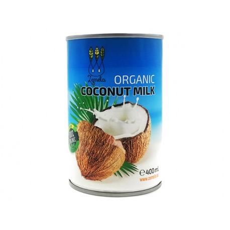Organic Coconut Milk, Zemela, 400 ml