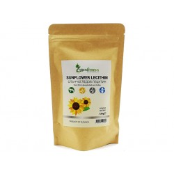 Sunflower Lecithin, powder, Zdravnitza, 150 g
