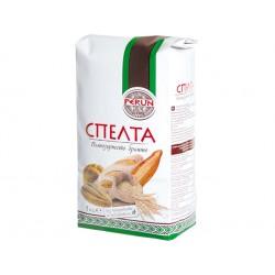 Spelt (Dinkel), wholegrain flour, Perun, 1 kg