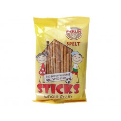 Spelt (Dinkel) sticks, wholegrain, Perun, 50 g