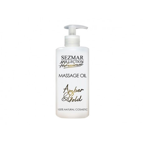 Amber and Gold Massage Oil, professional, Sezmar, 500 ml