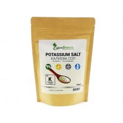 Potassium salt, table salt substitute, Zdravnitza, 500 g