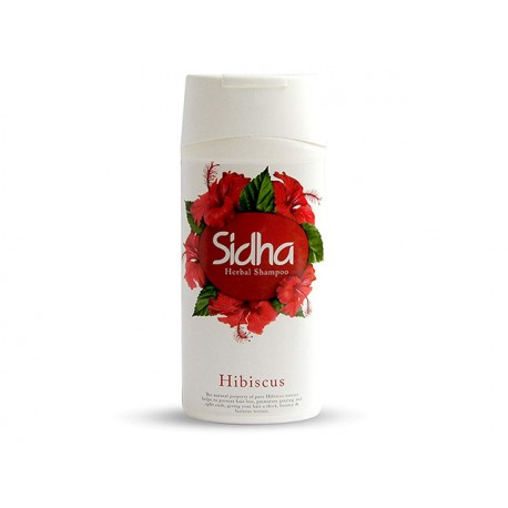 Herbal shampoo - Hibiscus, Sidha, 180 ml