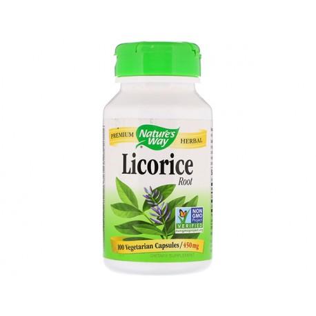 Licorice - root, Nature's Way, 100 capsules