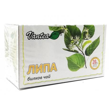 Linden, herbal tea, Vantea, 20 filter bags